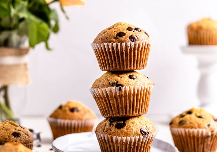 Muffins cu ciocolata