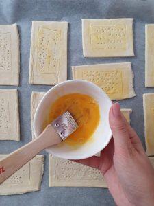 Foietaj cu crema de branza instructiuni