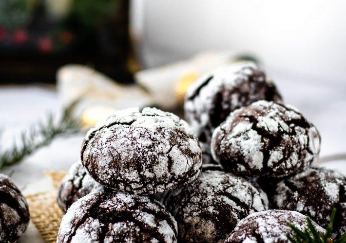 Fursecuri crapate cu ciocolata