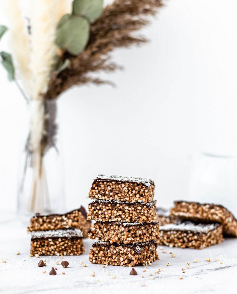 Batoane de quinoa cu ciocolata