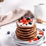 Pancakes cu cacao si ciocolata