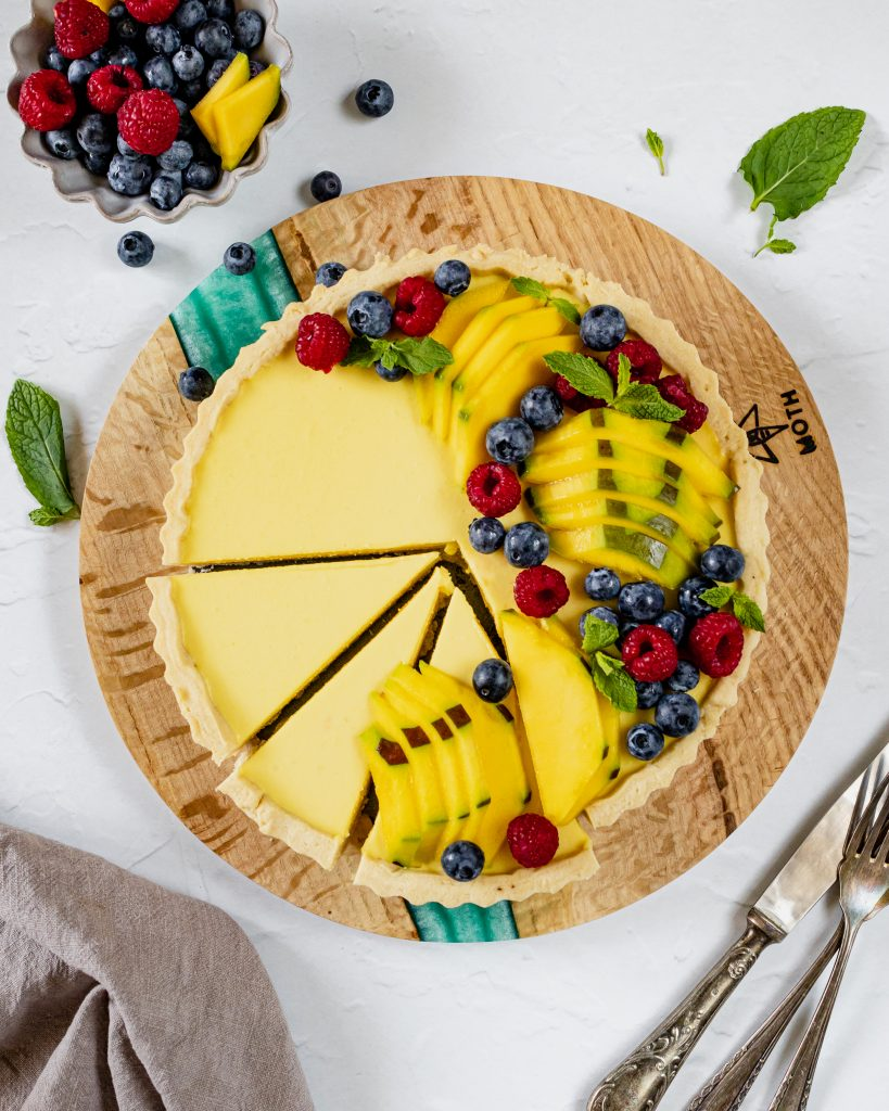 Tarta cu mango si lamaie